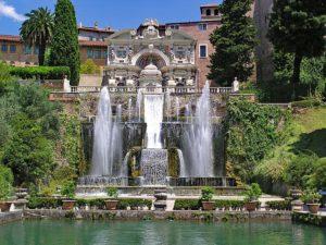 Famous Gardens in Rome Villa d'Este
