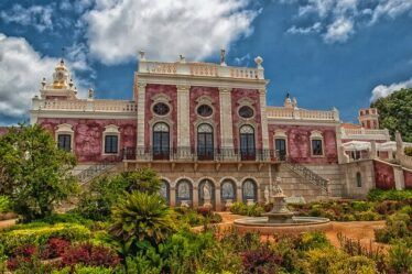 Palace and Gardens if Estoi