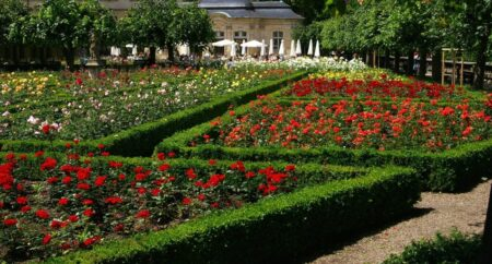 Rosengarten Bamberg Gardens to visit on the Rhine