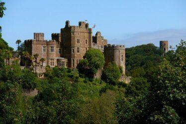 Dunster Castle and Gardens, Gardens t Visit in Somerest