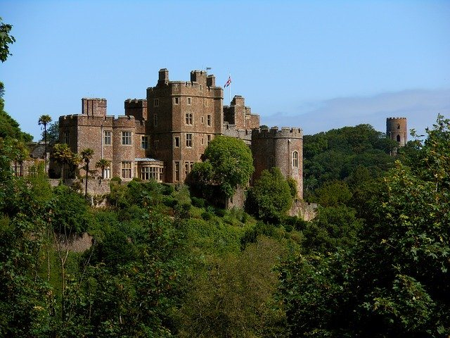 Dunster Castle and Gardens, Gardens t Visit in Somerest
